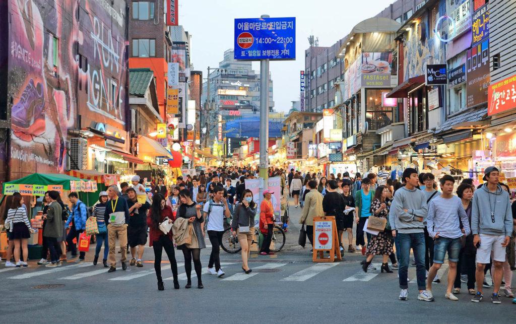 places to meet korean girls in seoul hongdae
