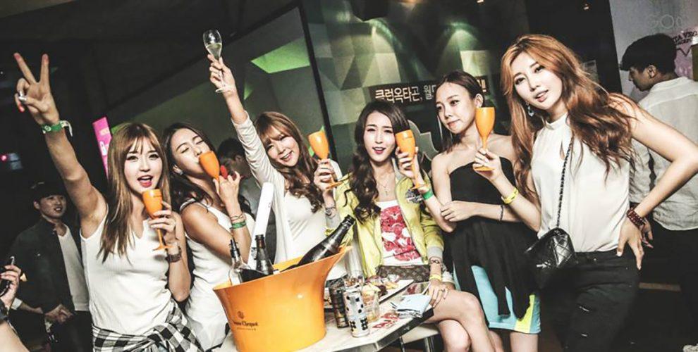 korean girls party